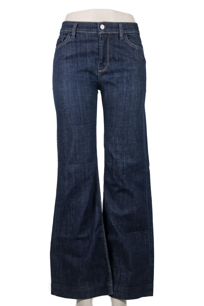 7FAM Ginger Wide Leg Jeans