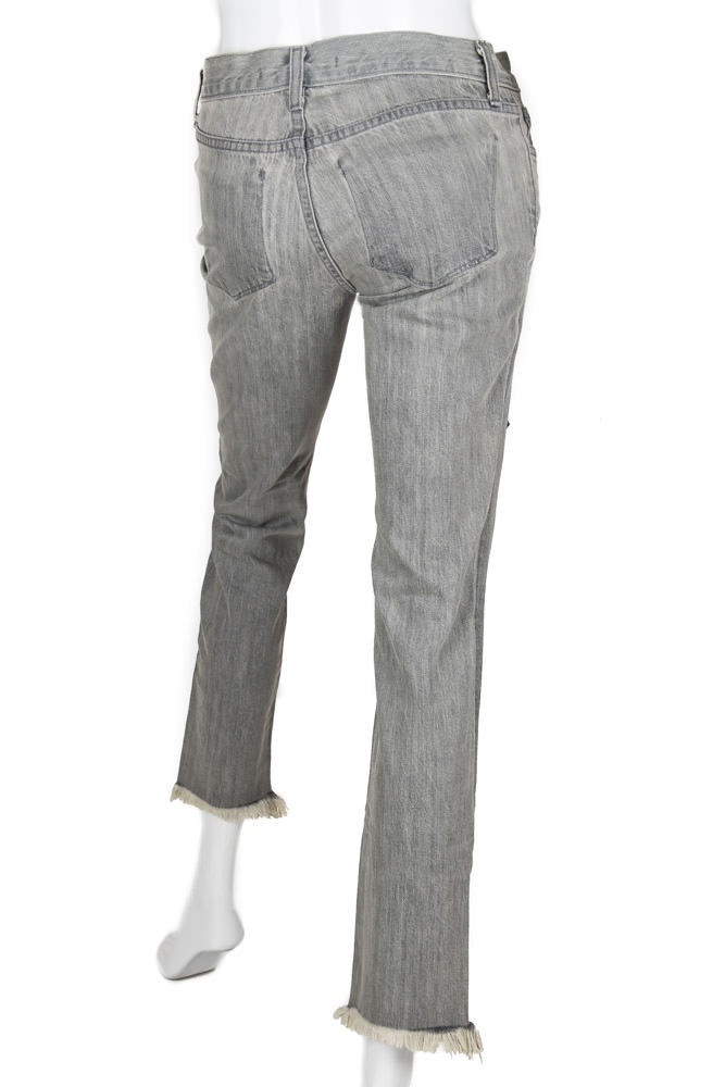 J Brand Gray Jeans With Lace