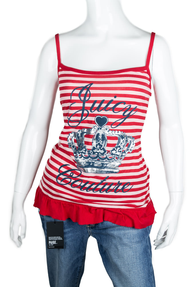Striped Juicy Couture Tank