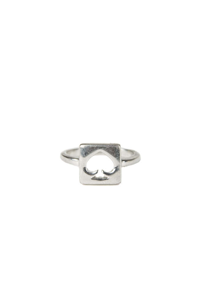 Kate Spade New York Silver Hole Punch Ring
